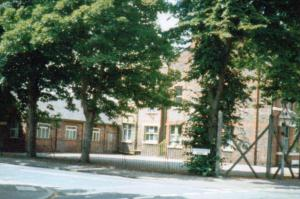 St John's playground at the junction of Chequers Road and High Lane